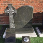 headstones for graves in Leasowe