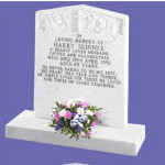 Lettering on Headstones in Neston