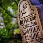 Lettering on headstones in Wallasey